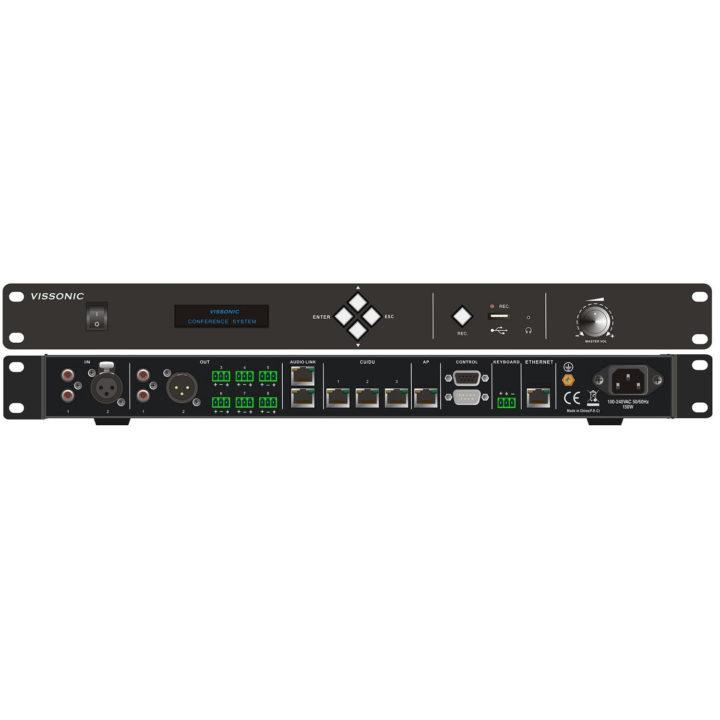 Центральный контроллер конференц-системы VIS-DCP2000-D