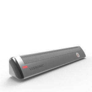 Микрофонный массив председателя VIS-DAC-T. Вид сбоку.