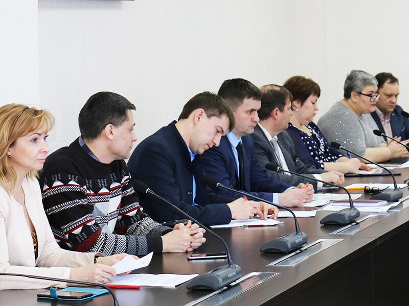 Заседание в Администрации Мегиона