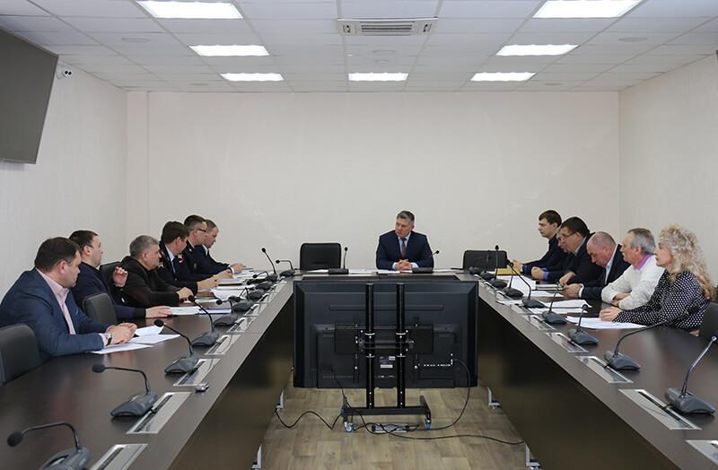 Рабочее совещание в Администрации города Мегиона
