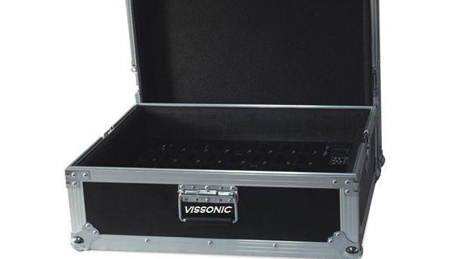 Кейс VIS-TC40 для хранения и зарядки 40 приемников