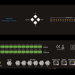 Цифровой передатчик VIS-VLI700A-4/-8/-16 для системы синхронного перевода VISSONIC VLI