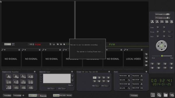 Профессиональный видеорекордер VIS-CRS05. Меню
