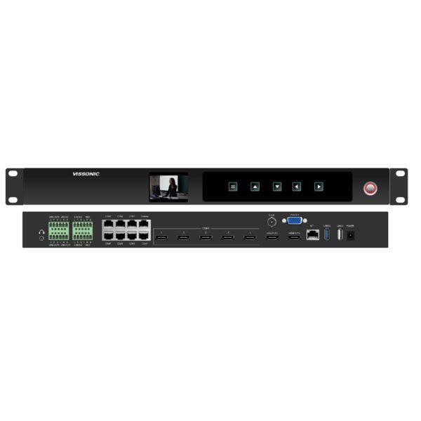 Профессиональный видеорекордер VIS-CRS05 для записи и трансляции конференций. Дисковое пространство 1 Тб. 5 вх. HDMI