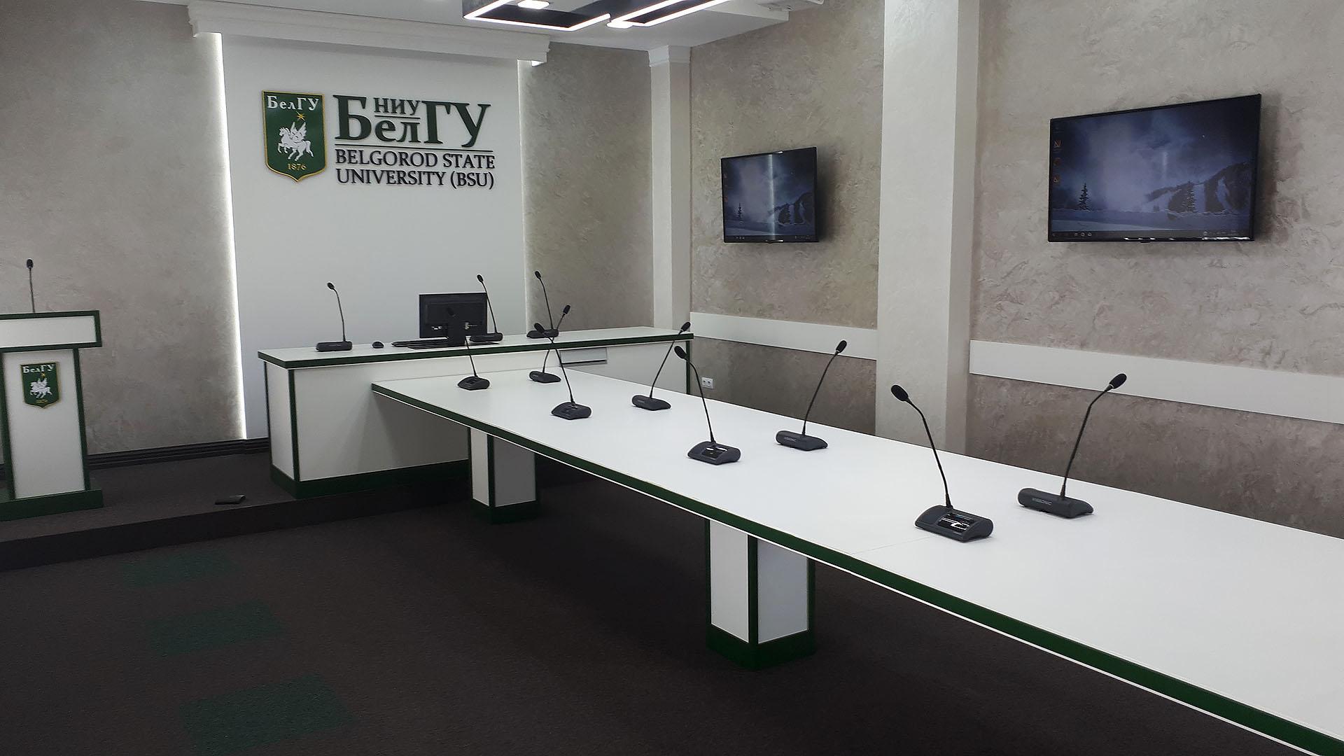 Беспроводная конференц-система VISSONIC CLEACON Wireless в БелГУ