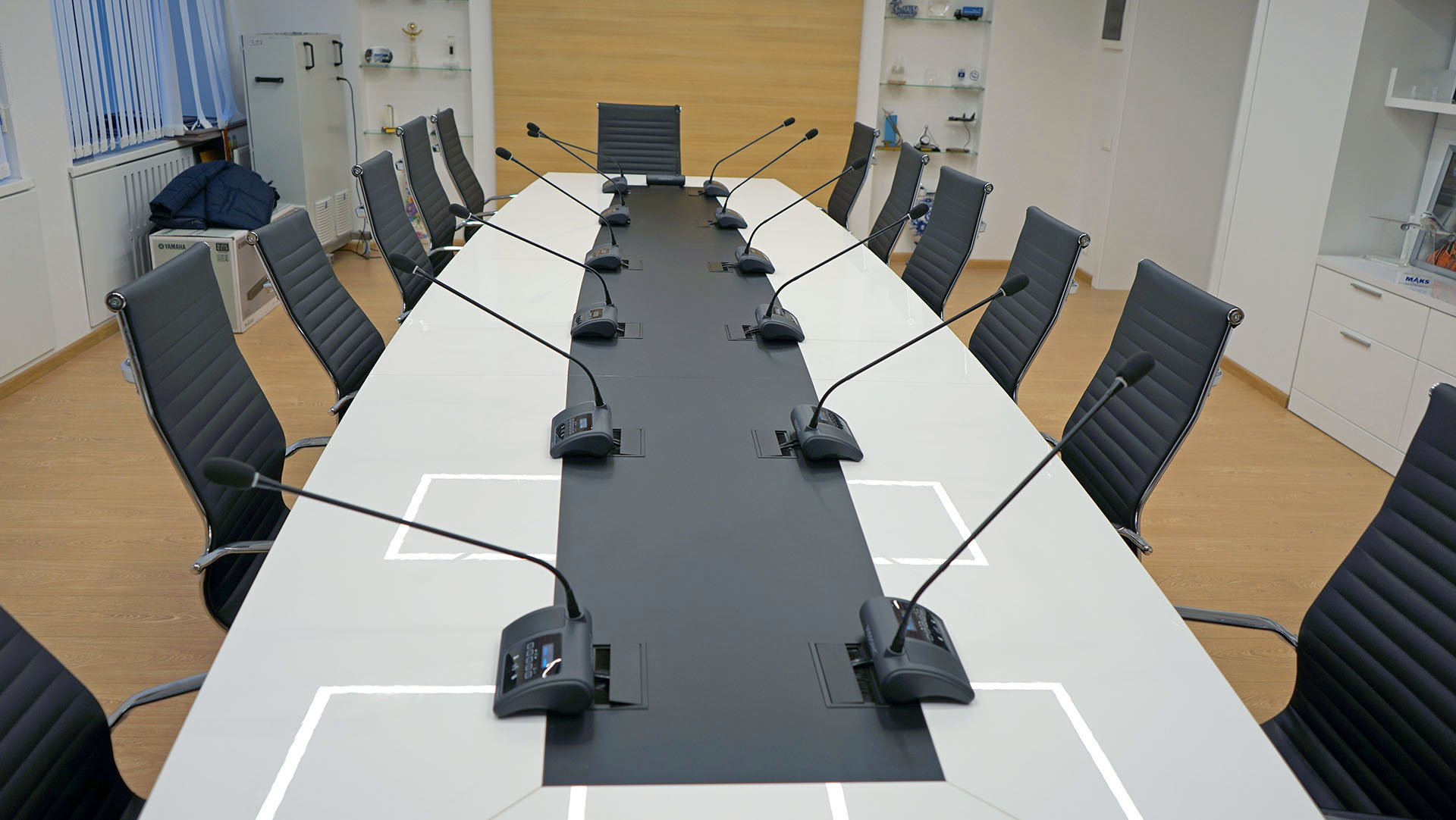 Зал заседаний МФТИ Долгопрудный